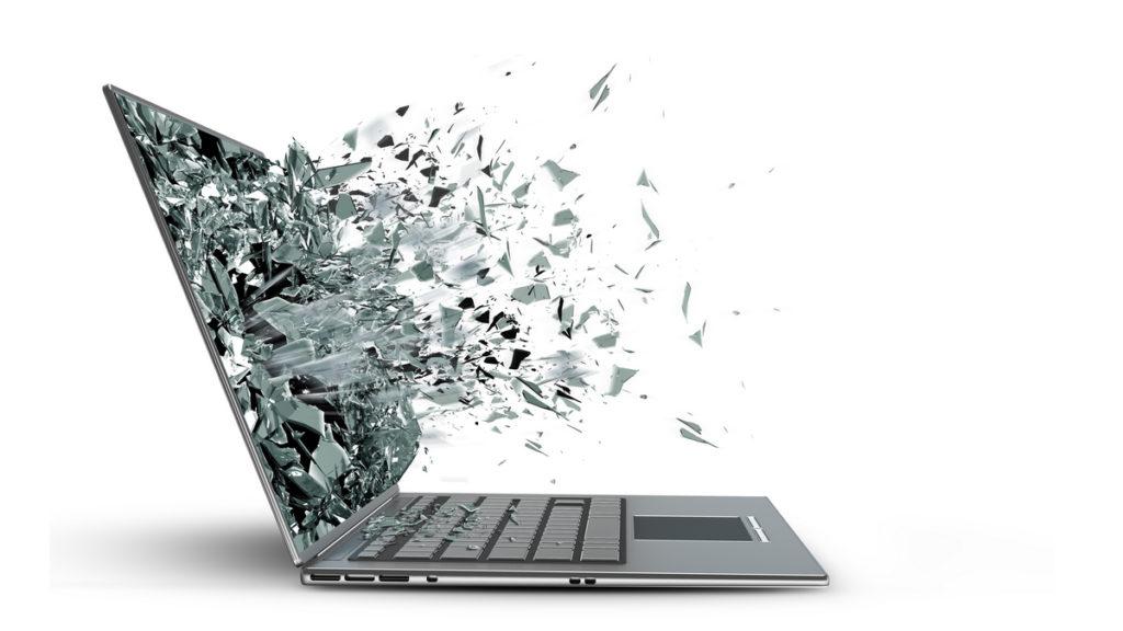 Матрица замена на ноутбуке